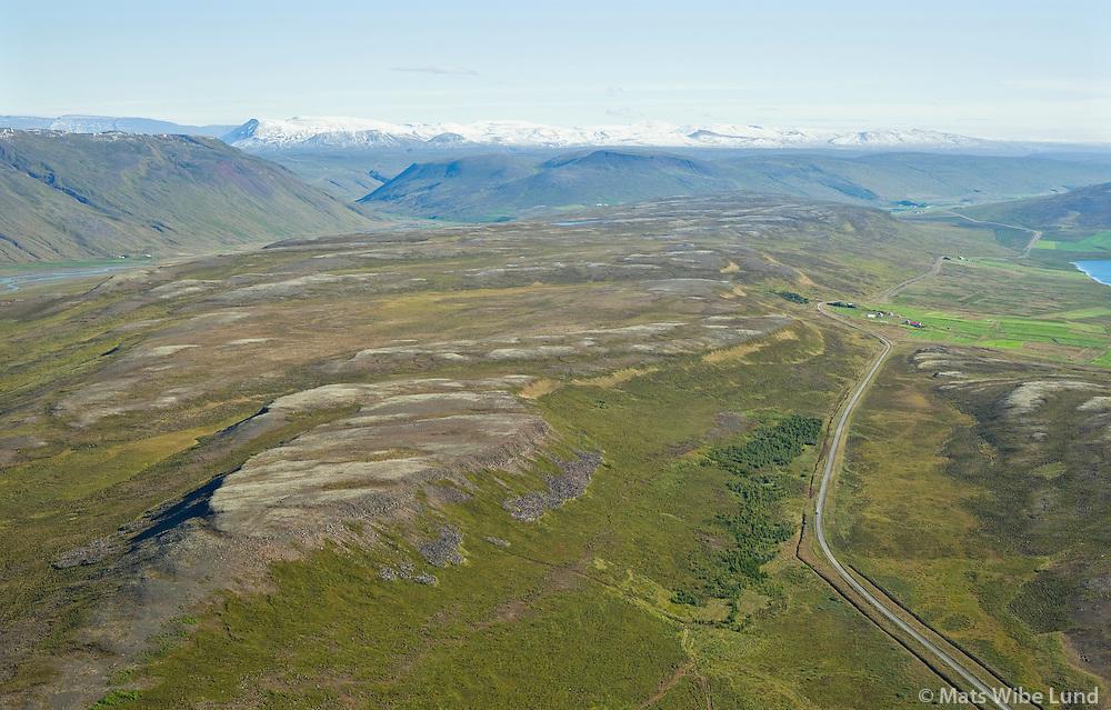 Auðnukot séð til suðurs, Húnavatnshreppur áður Svínavatnshreppur /  Audnukot viewing south,  Hunavatnshreppur former Svinavatnshreppur.