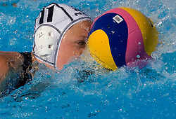 Kristen Hudson (NZL)  at Women Waterpolo match between National Teams of Nederlands and New Zealand at 13th FINA World Championships Rome 2009, on July 25 2009, at Foro Italico, Rome, Italy. (Photo by Vid Ponikvar / Sportida)
