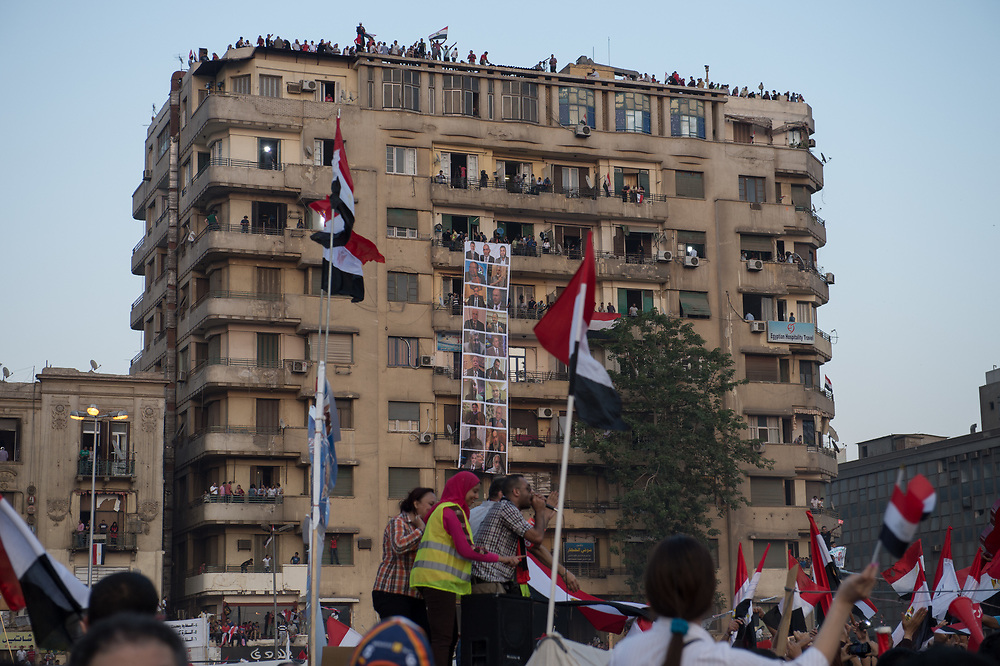 Anti-Morsi rally on Tahrir Square in Cairo, Egypt, July 3, 2013