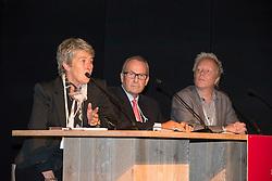 Panel : Kyra Kyrklund, David Hunt, Maarten Vanderheyden<br /> Global Dressage Forum<br /> Academy Bartels - Hooge Mierden 2013<br /> © Dirk Caremans