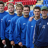 St Johnstone FC pre-season training...29.06.04<br />