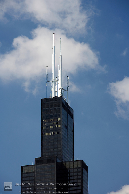 A photo of the Sears Tower in Chicago