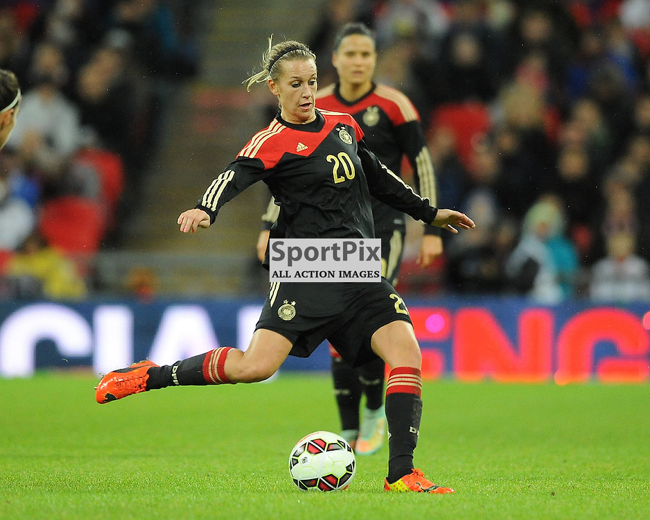 Lena, Goebling, Germany, England v Germany Ladies, Breast Cancer Care International, Wembley , Sunday 23rd November 2014