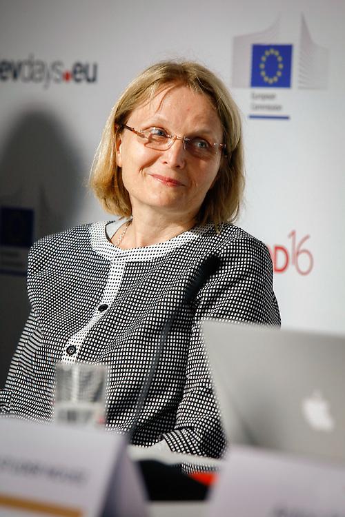 20160615 - Brussels , Belgium - 2016 June 15th - European Development Days - Daniela Krahl - Ensuring policy coherence between interconnected Sustainable Development Goals © European Union