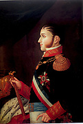Augustín de Iturbide (1783-1824) also known as Agustín I, Constitutional Emperor of Mexico 1822-1823.by Jiménez Codinach (1750-1821)