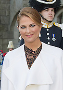 Princess Madeleine Wears Pearl Shoes