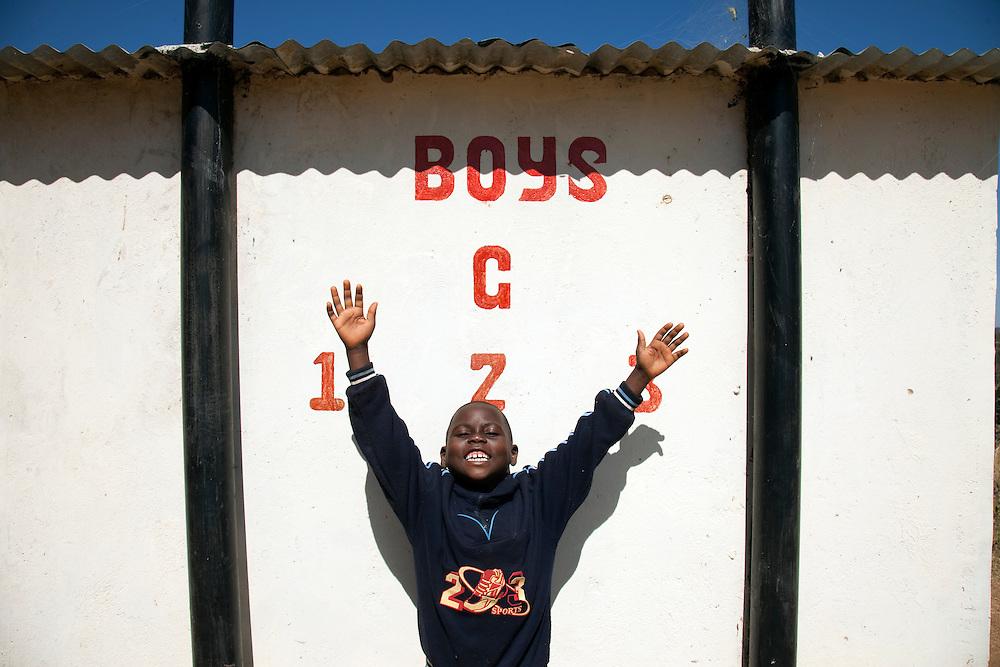 Chiobola school, Zambia.