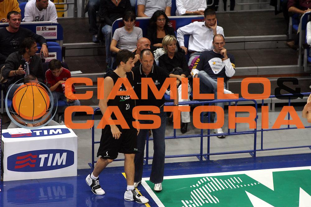 DESCRIZIONE : Bologna Precampionato Lega A1 2006 2007 Trofeo Carisbo Climamio Fortitudo Bologna VidiVici Virtus Bologna<br />GIOCATORE : Michelori Markovski<br />SQUADRA : VidiVici Virtus Bologna<br />EVENTO : Precampionato Lega A1 2006 2007 Trofeo Carisbo Climamio <br />Fortitudo Bologna VidiVici Virtus Bologna<br />GARA : Climamio Fortitudo Bologna VidiVici Virtus Bologna<br />DATA : 26/09/2006<br />CATEGORIA : Ritratto<br />SPORT : Pallacanestro<br />AUTORE : Agenzia Ciamillo-Castoria/G.Ciamillo