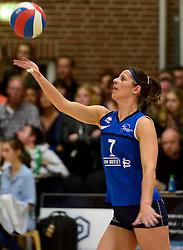 12-04-2014 NED: Finale vv Alterno - Sliedrecht Sport, Apeldoorn<br /> Alterno pakt het kampioenschap door Sliedrecht voor de derde maal te verslaan / Nienke de Waard