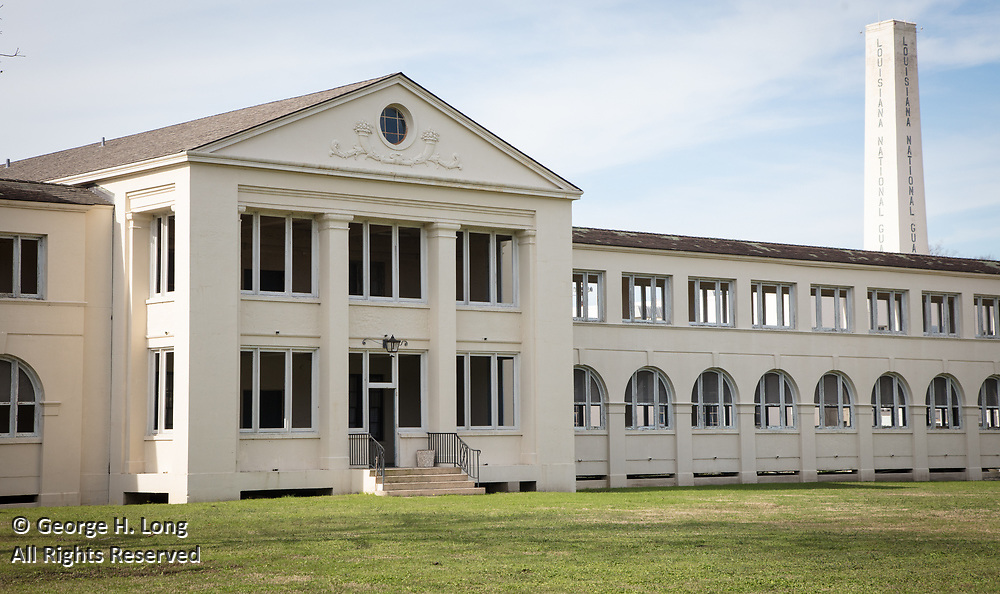 National Hansen's Disease Museum buildings tour at Carville, Louisiana on January 30, 2019