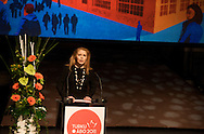 Turku-European Capital of Culture 2011 is officially opened by Suvi Innila?, Turku 2011 Foundation Programme Director. January 14th, 2011, Turku, Finland.