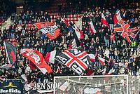 ALKMAAR - 06-02-2016, AZ - Vitesse, AFAS Stadion, 1-0, supporters AZ
