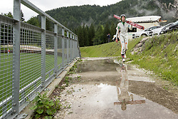 Anze Semenic during ski jumping training in Nordic Center Planica, on June 29, 2017 in Planica, Slovenia. Photo by Matic Klansek Velej / Sportida