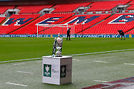 The FA VASE TROPHY before the FA Vase match at Wembley Stadium, London<br /> Picture by David Horn/Focus Images Ltd +44 7545 970036<br /> 10/05/2014