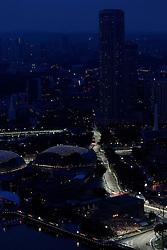 Motorsports / Formula 1: World Championship 2010, GP of Singapore,  circuit,  general view,