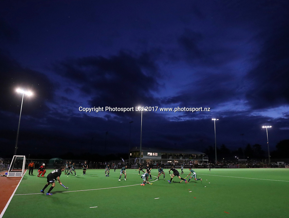 , International Hockey test, Black Sticks men v Pakistan, Trust House Hockey, Wairarapa, New Zealand. Wednesday, 22 March, 2017. Copyright photo: John Cowpland / www.photosport.nz