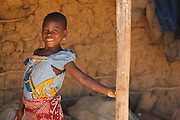 Girl in the village of Popoko, Bas-Sassandra region, Cote d'Ivoire on Tuesday March 6, 2012.
