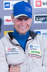 Klemen Bauer at press conference of Slovenian Biathlon National Team before new season 2008/2009, on November 24, 2008 in Emporium, BTC, Ljubljana, Slovenia.  (Photo by Vid Ponikvar / Sportida)