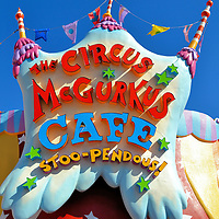 Circus McGurkus Cafe in Seuss Landing at Islands of Adventure in Orlando, Florida <br />