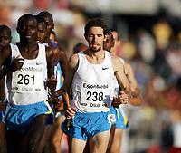 Friidrett, 29. juli 2005, Golden League, Bislett Games,  Jonathan Riley, USA , 5000 m