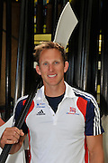 Caversham, Great Britain, GBR  M2X, Matt LANGRIDGE,  GB Rowing media day, 2013 World Cup Team Announcement  at the Redgrave Pinsent Rowing Lake. GB Rowing Training centre. Wednesday  05/06/2013  [Mandatory Credit. Peter Spurrier/Intersport Images]