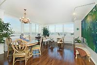 Living Room at 120 Riverside Boulevard