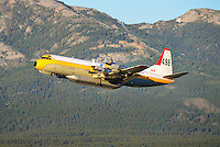 In the climb out of Whitehorse International Airport (CYXY)