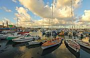 Israel, Western Galilee, the Acre harbour