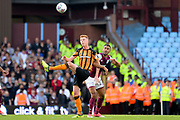 Hull City midfielder Sam Clucas (11) clears his lines during the EFL Sky Bet Championship match between Aston Villa and Hull City at Villa Park, Birmingham, England on 5 August 2017. Photo by Dennis Goodwin.