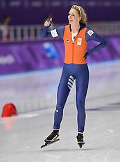 Ladies' Speed Skating 3000m - 10 February 2018