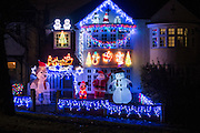 A home in Highgate decorated in Xmas decorations on November 27th  2014.<br /> Photos by Ki Price