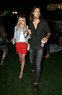 17th April 2009. Indio, California. Actress Kate Bosworth and boyfriend James Rousseau, in the VIP area at the Coachella Music Festival..PHOTO © JOHN CHAPPLE / REBEL IMAGES.tel +1 310 570 9100    john@chapple.biz
