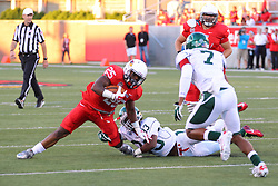 06 Sep 2014: Marshaun Coprich during a non-conference NCAA football game between the Delta Devils of Mississippi Valley State and the Redbirds of Illinois State at Hancock Stadium in Normal Il
