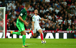 Jordan Henderson of England runs with the ball - Mandatory by-line: Robbie Stephenson/JMP - 05/10/2017 - FOOTBALL - Wembley Stadium - London, United Kingdom - England v Slovenia - World Cup qualifier