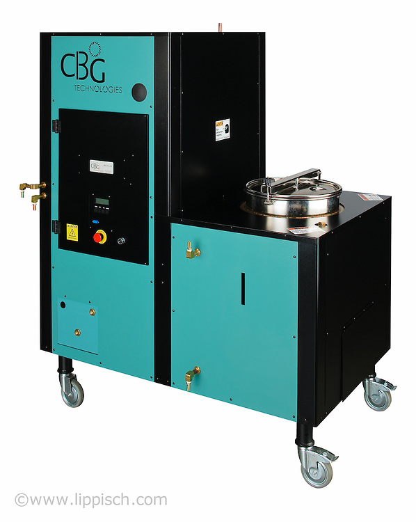 Chemical recycling machine.