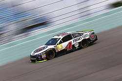 November 17, 2018 - Homestead, Florida, U.S. - Kevin Harvick (4) takes to the track to practice for the Ford 400 at Homestead-Miami Speedway in Homestead, Florida. (Credit Image: © Justin R. Noe Asp Inc/ASP)