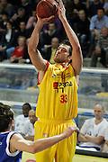 DESCRIZIONE : Frosinone Lega Basket A2 2011-12  Prima Veroli Centrle del Latte Brescia<br /> <br /> GIOCATORE : David Brkic<br /> <br /> CATEGORIA : tiro<br /> <br /> SQUADRA : Prima Veroli<br /> <br /> EVENTO : Campionato Lega A2 2011-2012<br /> <br /> GARA : Prima Veroli Centrale del Latte Brescia <br /> <br /> DATA : 18/03/2012<br /> <br /> SPORT : Pallacanestro <br /> <br /> AUTORE : Agenzia Ciamillo-Castoria/ A.Ciucci<br /> <br /> Galleria : Lega Basket A2 2011-2012 <br /> <br /> Fotonotizia : Frosinone Lega Basket A2 2011-12 Prima Veroli Centrale del Latte Brescia<br /> <br /> Predefinita :