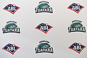 Logos.<br /> Auckland Tuatara baseball team is announced to play in the Australian Baseball League at the Centre for Conservaion Medicine at Auckland Zoo. New Zealand. Monday 27 August 2018. © Copyright Image: Andrew Cornaga / www.photosport.nz