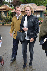 PETER PHILLIPS and his sister ZARA TINDALL  at the 2015 RHS Chelsea Flower Show at the Royal Hospital Chelsea, London on 18th May 2015.