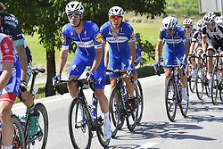 June 16, 2018 - Gommiswald, Suisse - BELLINZONA, SWITZERLAND - JUNE 16 : GILBERT Philippe (BEL)  of Quick - Step Floors during stage 8 of the Tour de Suisse cycling race, a stage of 123 kms between Bellinzona and Bellinzona on June 16, 2018 in Bellinzona, Switzerland, 16/06/2018 (Credit Image: © Panoramic via ZUMA Press)