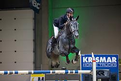 Bartholomeeusen Wim, BEL, Marlou van de Leeuwerk<br /> Nationaal Indoorkampioenschap  <br /> Oud-Heverlee 2020<br /> © Hippo Foto - Dirk Caremans