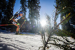Andreas Birnbacher (GER) during Men 15 km Mass Start at day 4 of IBU Biathlon World Cup 2015/16 Pokljuka, on December 20, 2015 in Rudno polje, Pokljuka, Slovenia. Photo by Ziga Zupan / Sportida