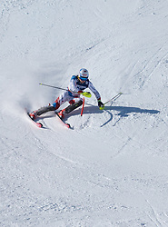 13.02.2017, St. Moritz, SUI, FIS Weltmeisterschaften Ski Alpin, St. Moritz 2017, alpine Kombination, Herren, Slalom, im Bild Mauro Caviezel (SUI, Herren Alpine Kombination Bronzemedaille) // men's Alpine Combined Bronze medalist Mauro Caviezel of Switzerland in action during his run of Slalom competition for the men's Alpine combination of the FIS Ski World Championships 2017. St. Moritz, Switzerland on 2017/02/13. EXPA Pictures © 2017, PhotoCredit: EXPA/ Johann Groder