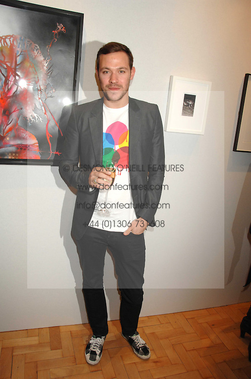 Singer WILL YOUNG at the TOD's Art Plus Film Party 2008 hosted by The Whitechapel Art Gallery at a former church at 1 Marylebone Road, London NW1 on 6th March 2008.<br /><br />NON EXCLUSIVE - WORLD RIGHTS