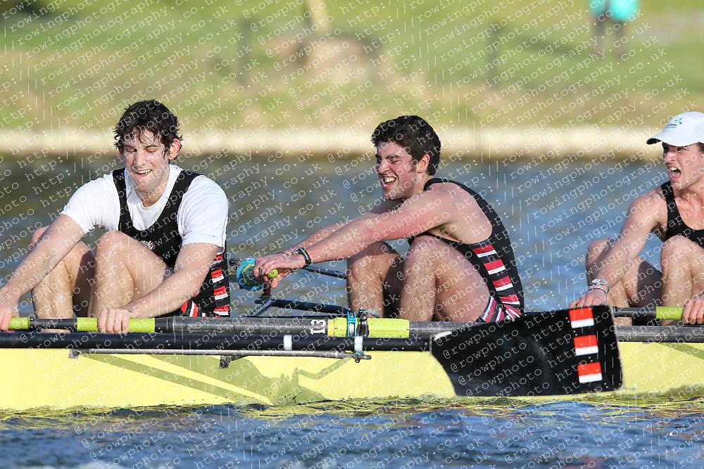 2012.02.25 Reading University Head 2012. The River Thames. Division 2. Thames Rowing Club B Sen 8+