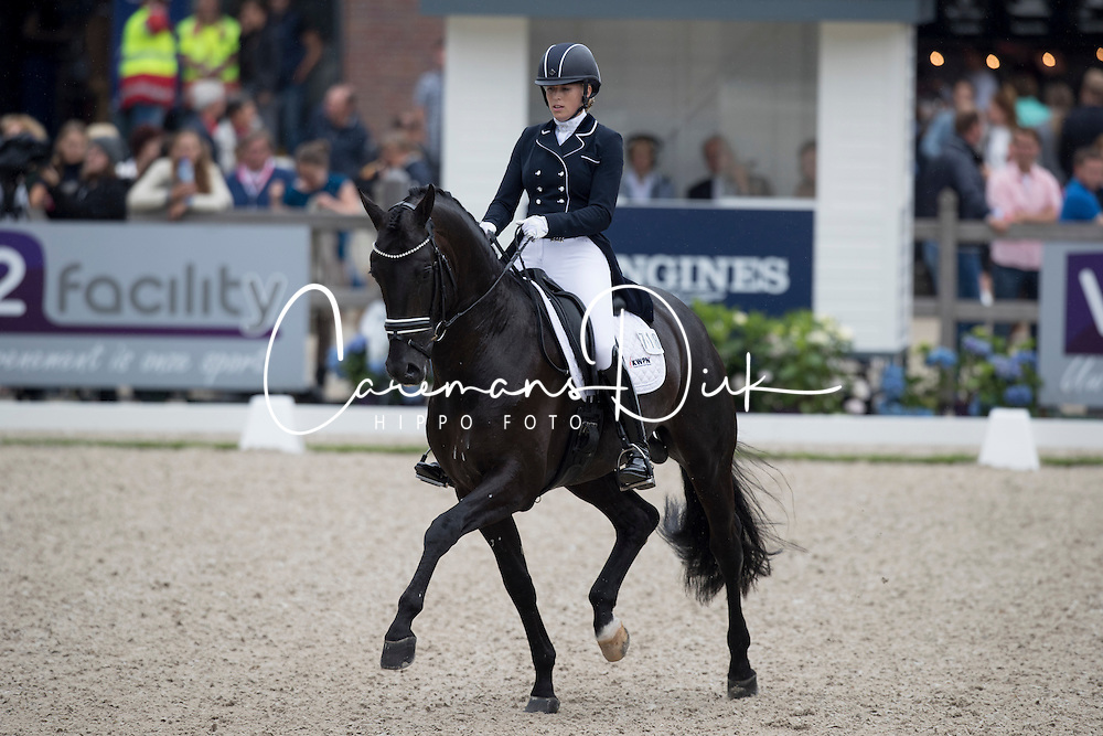 Bruntink Vai, NED, Ebony<br /> World Championship Young Dressage Horses <br /> Ermelo 2016<br /> &copy; Hippo Foto - Dirk Caremans<br /> 29/07/16