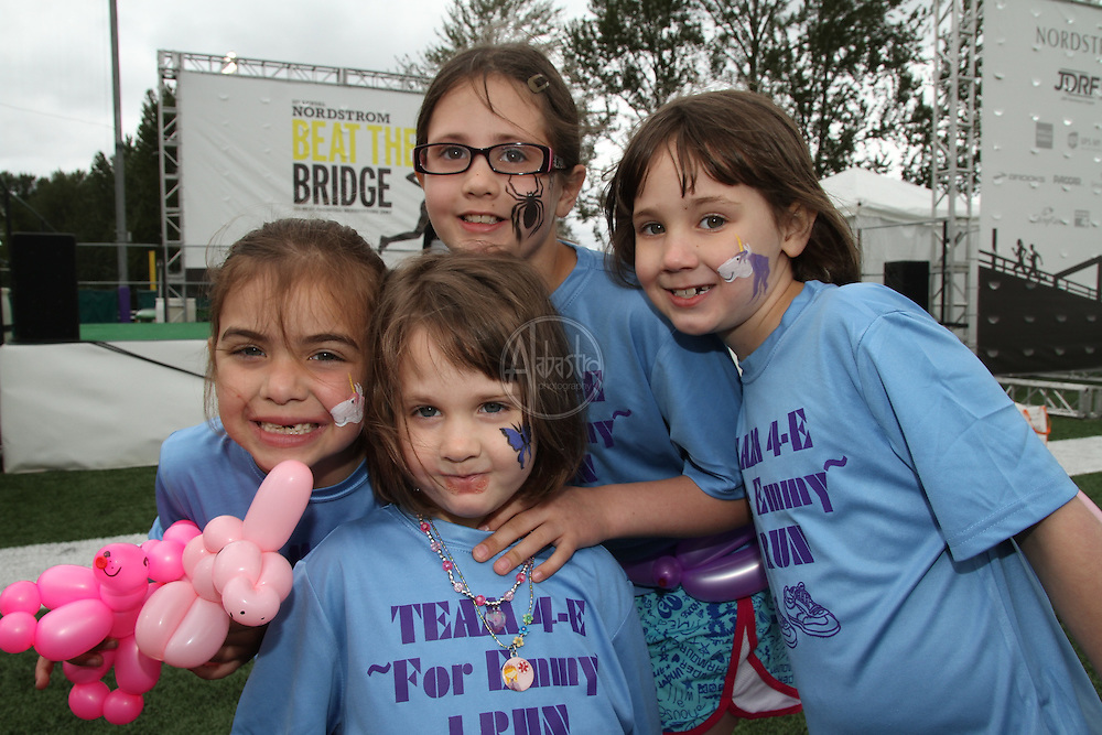 31st Annual Nordstrom Beat the Bridge, benefitting JDRF - team portraits.