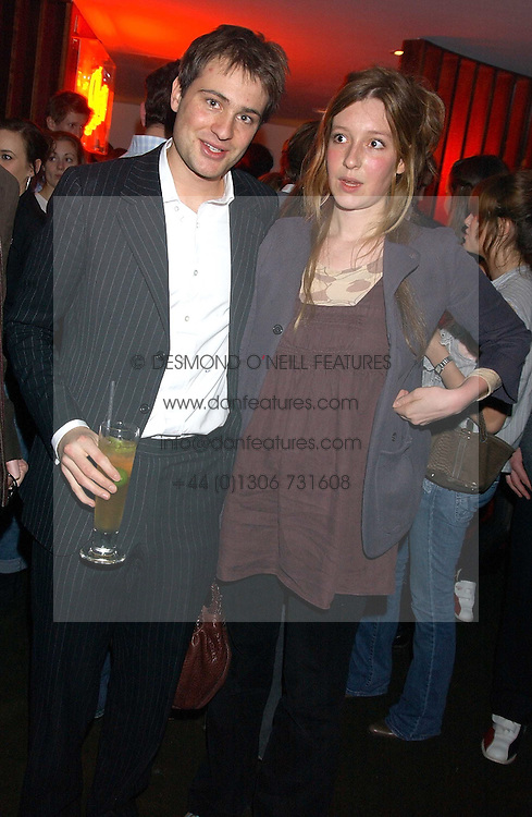 BEN & KATE GOLDSMITH at the opening party for a new bowling alley All Star Lanes, at Victoria House, Bloomsbury Place, London on 19th January 2006.<br /><br />NON EXCLUSIVE - WORLD RIGHTS