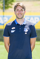 German Bundesliga - Season 2016/17 - Photocall 1899 Hoffenheim on 19 July 2016 in Zuzenhausen, Germany: Assistant coach Benjamin Glueck, Photo: APF | usage worldwide