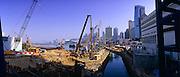 Hong Kong harbour in 2008